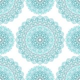 Seamless oriental pattern. Seamless pattern with mandala. Vintage decorative elements Royalty Free Stock Photos