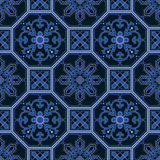 Seamless oriental pattern vector background Royalty Free Stock Photos