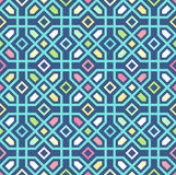 Seamless oriental pattern. Vector background Stock Photos