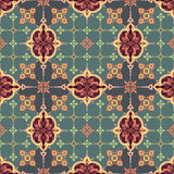 Seamless oriental pattern Stock Photography