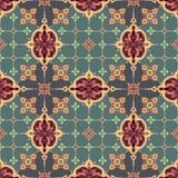 Seamless oriental pattern. Seamless vector pattern in oriental style Stock Photography