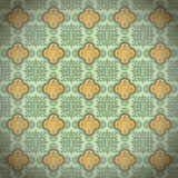 SEAMLESS ORIENTAL STYLE. Antique Oriental seamless mode, repeat the background, fully scalable vector graphics Royalty Free Stock Photo