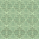 SEAMLESS ORIENTAL STYLE. Antique Oriental seamless mode, repeat the background, fully scalable vector graphics Stock Image
