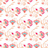 Seamless oriental style vector pattern Stock Images