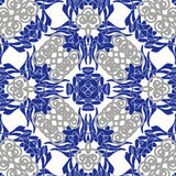Seamless oriental tiles Royalty Free Stock Images
