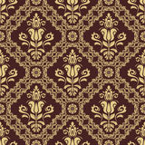 Seamless Oriental Vector Background Royalty Free Stock Image