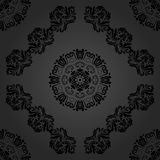 Seamless Oriental Vector Background Stock Photos