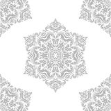 Seamless Oriental Vector Background Stock Photography