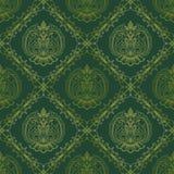 Seamless oriental wallpaper5 Stock Photo