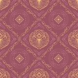 Seamless oriental wallpaper6 Royalty Free Stock Photo
