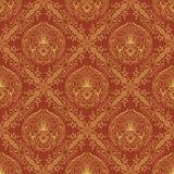 Seamless oriental wallpaper3 Royalty Free Stock Photo
