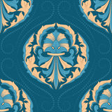Seamless oriental wallpaper Royalty Free Stock Photography