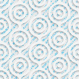 Seamless Origami Pattern. 3d Modern Lattice Background. Decorative Minimalistic Tile Wallpaper. Delicate Wrapping Paper Design Royalty Free Stock Photo