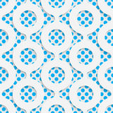Seamless Origami Pattern. 3d Modern Lattice Background. Decorative Minimalistic Tile Wallpaper. Delicate Wrapping Paper Design Stock Images