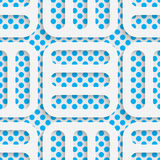 Seamless Origami Pattern. 3d Modern Lattice Background Royalty Free Stock Photography