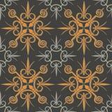 Seamless originell geometrisk bakgrund Royaltyfri Bild