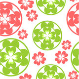 Seamless ornament 92. Vector. Seamless flower ornament  in color 92 Stock Images