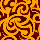 Seamless ornament. Backdrop with ethnic style elements Stock Images