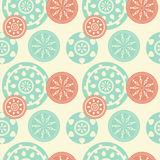 Seamless ornament background Royalty Free Stock Image