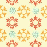 Seamless ornament background Stock Image