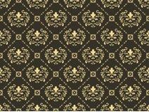 Seamless ornament  background. Damask wallpaper, vector decoration seamless ornament  background Stock Photo