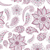 Seamless ornament. Beautiful doodle. Design elements for design of printed products, web or print design for clothing  Stock Image