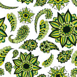 Seamless ornament. Beautiful doodle. Design elements for design of printed products, web or print design for clothing  Stock Photography
