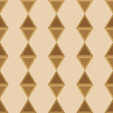Seamless ornament diamonds color transition Stock Photography