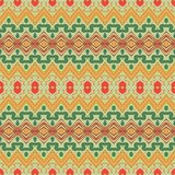 Seamless ornament in ethnic style. Stock Photos