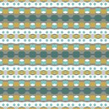 Seamless ornament in ethnic style. Royalty Free Stock Photography