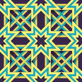 Seamless ornament. Geometric arabic pattern with seamless texture. Eps-10 Stock Illustration