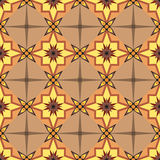 The seamless ornament. Geometric seamless ornament tiles, background or wallpaper Royalty Free Stock Photos
