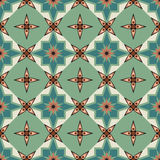 The seamless ornament. Geometric seamless ornament tiles, background or wallpaper Royalty Free Stock Photography