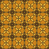 The seamless ornament. Geometric seamless ornament tiles, background or wallpaper Stock Photography
