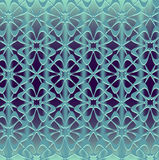Seamless ornament on gradient mesh background Stock Images