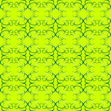 Seamless ornament green decorative background patt Royalty Free Stock Photography