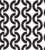 Seamless ornament mesh geometric pattern Stock Images