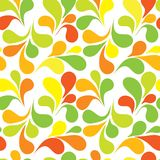 Seamless ornament pattern. Seamless ornament vector pattern in yellow Stock Images