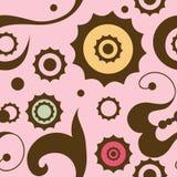 Seamless ornament pattern. Seamless background with art pattern Stock Image