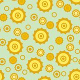 Seamless ornament pattern. Seamless background with art pattern Stock Photos