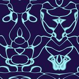 Seamless ornament  pattern in abstract style Royalty Free Stock Photos