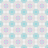 Seamless ornament pattern background with decorative elements Royalty Free Stock Photos