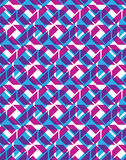 Seamless ornament pattern, colorful multilayered infinite geomet Stock Photo