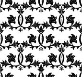 Seamless Ornament Pattern. Vector Royalty Free Stock Image