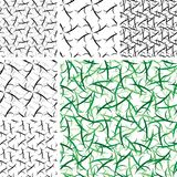 Seamless ornament patterns Stock Photos