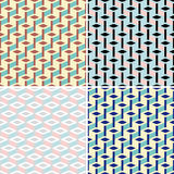 Seamless ornament patterns Royalty Free Stock Photo