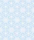 Seamless ornament with snowflakes Royalty Free Stock Image