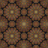 Seamless ornament for textiles. Royalty Free Stock Images