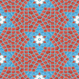 Seamless Ornament texture. Seamless texture and background with kaleidoscope ornament. Digitally generated image Royalty Free Stock Photo