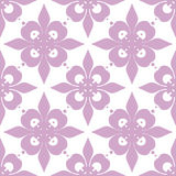 Seamless ornament texture pattern on white Stock Photo